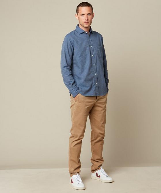Hartford Flannel Paul Regular Shirt