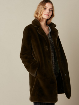 Hartford Faux Fur Vinta Coat