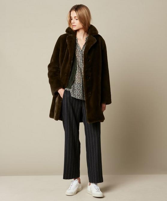 Hartford Faux Fur Vinta Coat