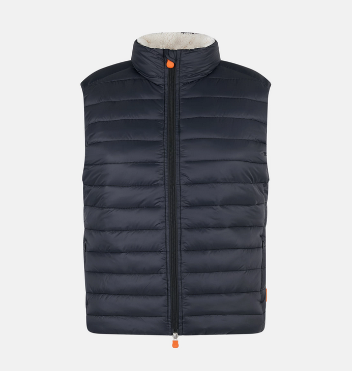 Save the Duck Giga Stand Lambskin Vest