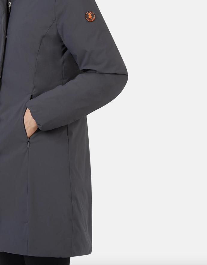 Save the Duck Matt Hooded Coat