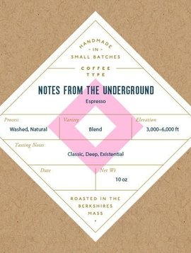 Six Depot Notes From The Underground 10oz