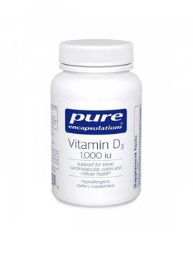 Pure Encapsulations Vitamin D3 1000 120caps