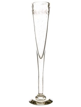 Jan Barboglio Pilar Extremely Tall Clear Champagne Flutes