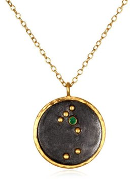 "Satya 18"" Taurus Zodiac Necklace"