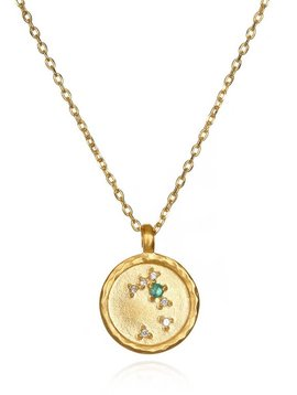 Satya Taurus Small Zodiac Necklace