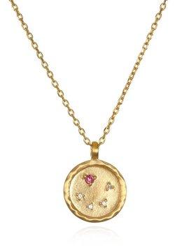 Satya Libra Pink Tourmaline Necklace