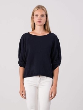 Margaret O'leary Knot Sleeve Pullover