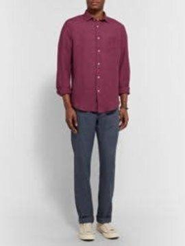 Hartford Men's Penn Linen Woven Shirt