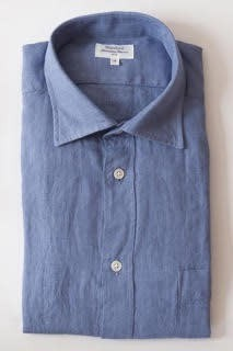 Hartford Men's Penn Linen Woven Shirt