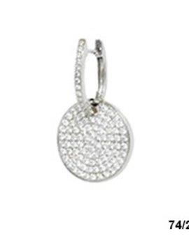 Elite Designs 18k Diamond Earrings, 1.2 carat Total Weight