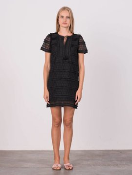 Margaret O'leary All Over Lace Dress