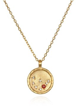 Satya Capricorn Garnet Necklace