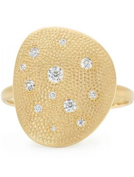 Anne Sportun Twelve Diamond Petal Ring