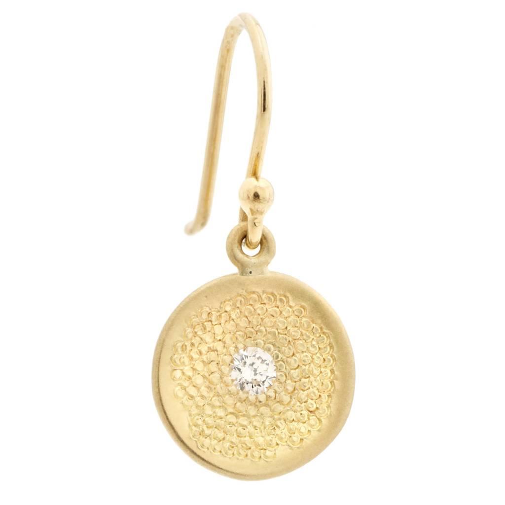 Anne Sportun Single Diamond Stardust Earrings