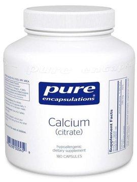 Pure Encapsulations Calcium Citrate Dietary Supplement