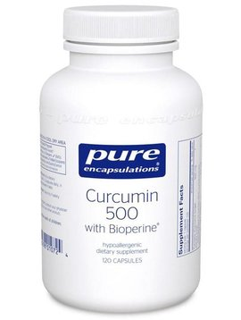 Pure Encapsulations Curcumin 500 Dietary Supplement