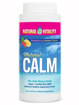 Natural Vitality Natural Calm Raspberry Lemon Anti-Stress Drink