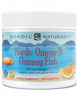 Nordic Naturals Natural Omega 3 Gummy Fish