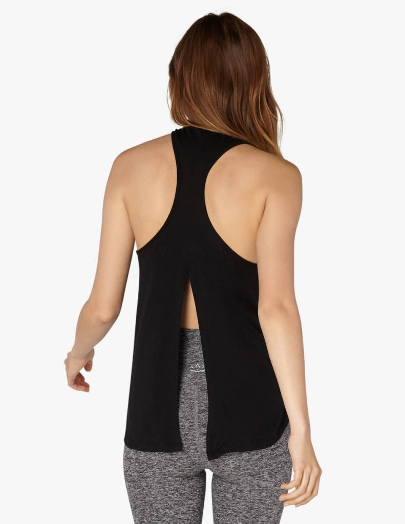 Beyond Yoga Draw the Line Tie Back Tank