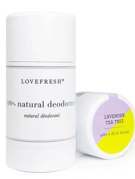 Lovefresh Natural Lavender Tea Tree Deodorant