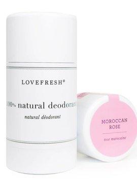 Lovefresh Natural Moroccan Rose Deodorant