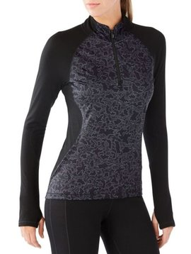 Smartwool PhD® Light Printed Wind 1/2 Zip