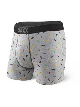 SAXX UNDERWEAR PLATINUM BOXER WITH FLY - CHEERS