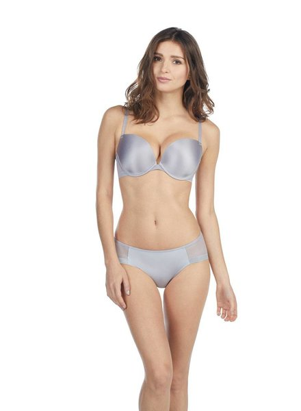 LE MYSTERE Smoke Infinite Underwire Convertible T-Shirt Bra