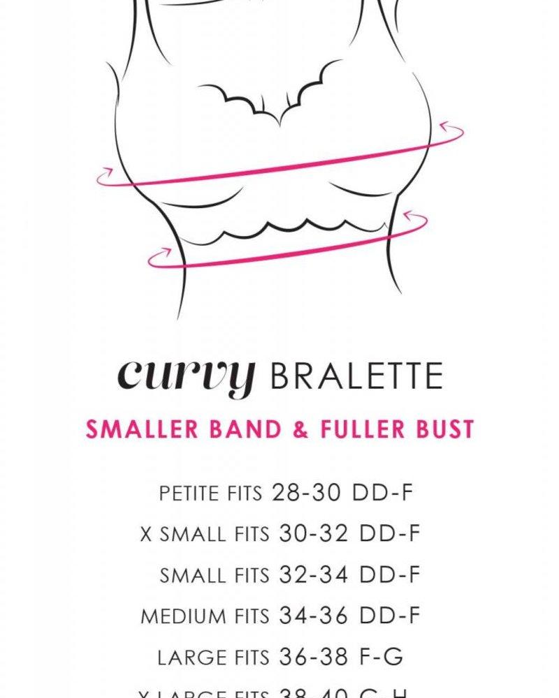 Cosabella PRET-A-PORTER CURVY LONGLINE BRALETTE