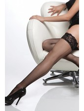 LACE TOP SHEER THIGH HIGH FISH NET STAY UP STOCKINGS