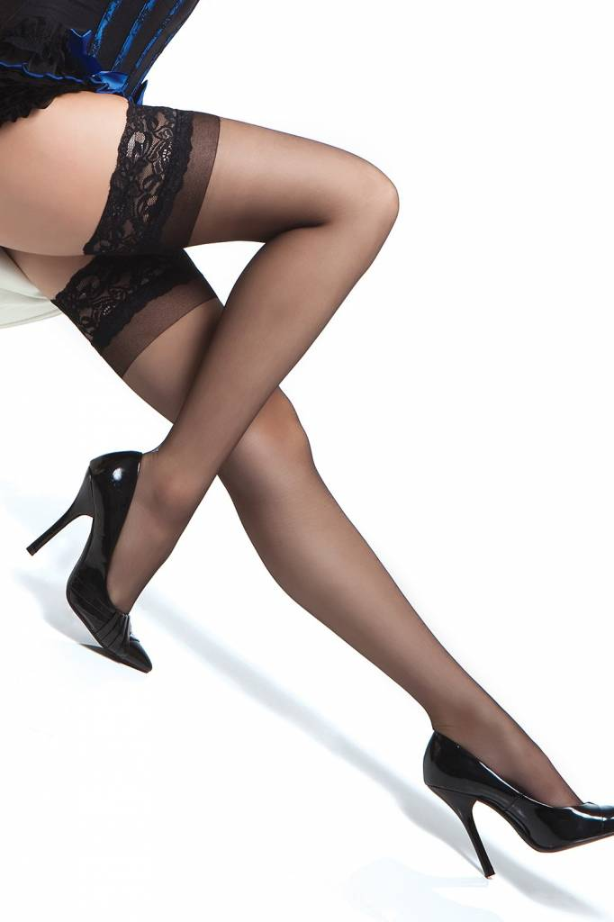 LACE TOP SHEER THIGH HIGH STAY UP STOCKINGS