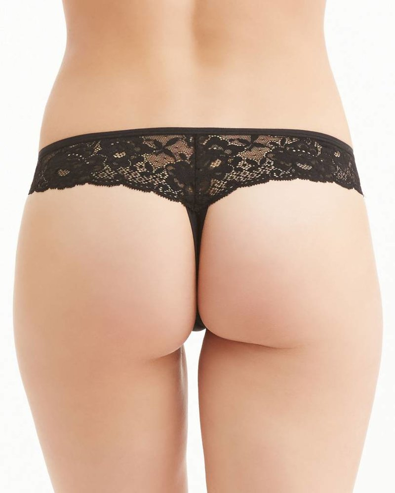 Montelle Low Rise Lace Cheeky Thong