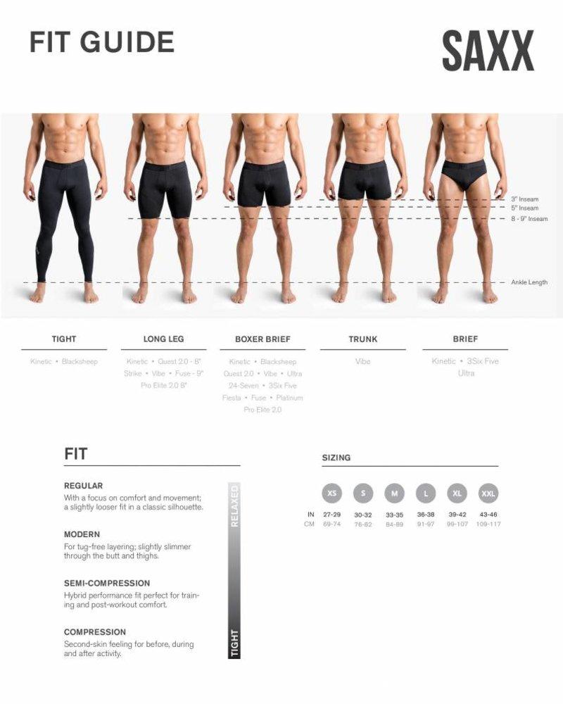 SAXX Underwear Ultra Moisture Wicking Everyday Fly-Front Brief