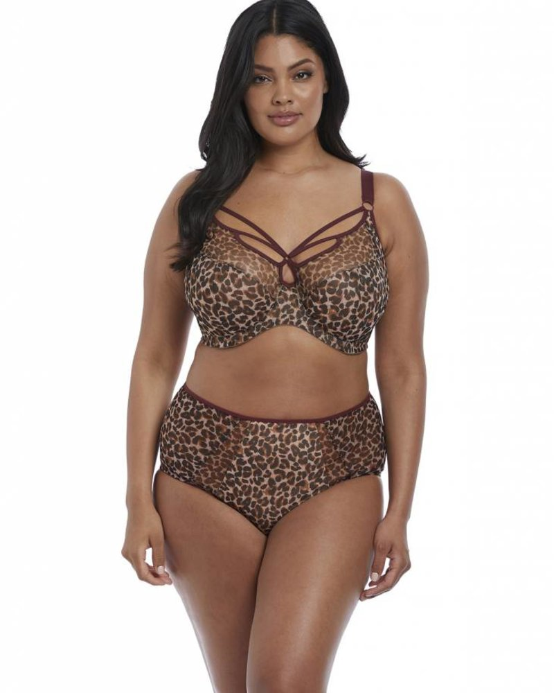 Elomi Sachi Full Brief Panty - Leopard