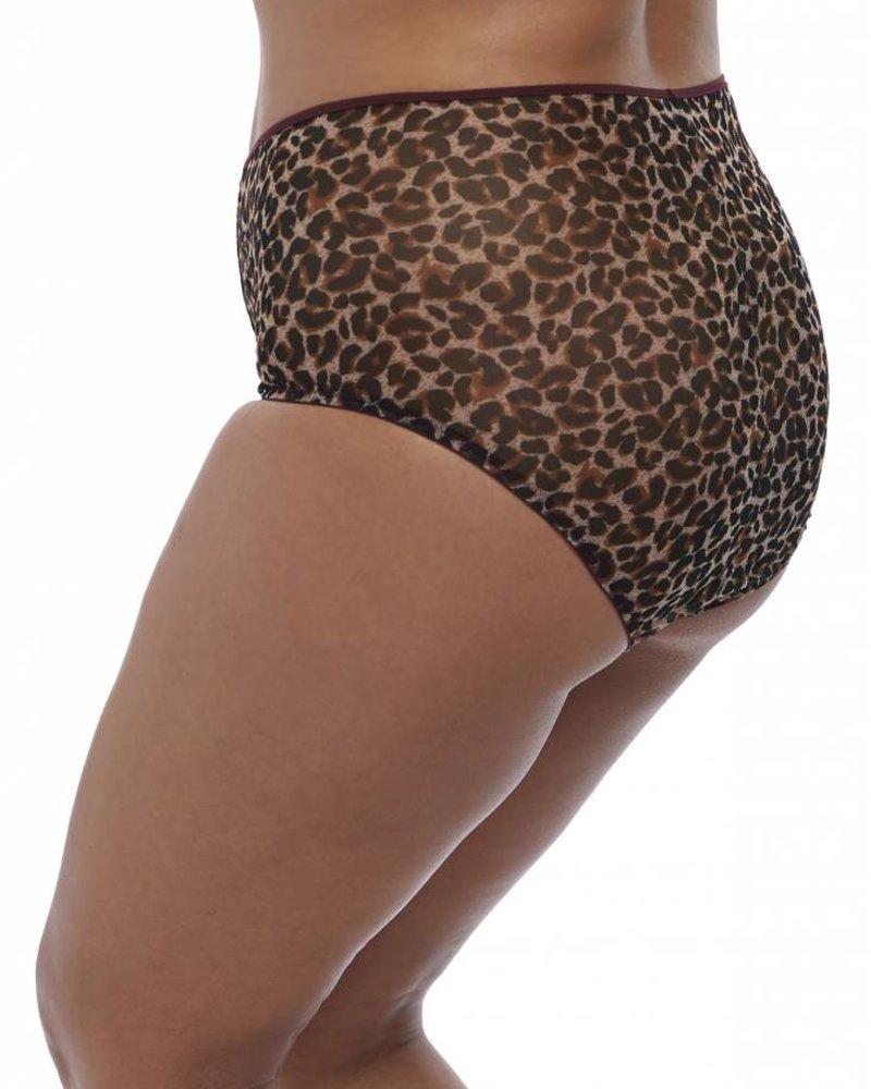 Elomi Sachi Full Brief Panty - Leopard