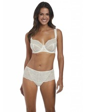 FANTASIE Bronte Underwire Side Support Plunge Bra - Ivory