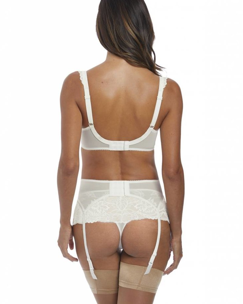 FANTASIE Bronte Matching Suspender Belt - Ivory