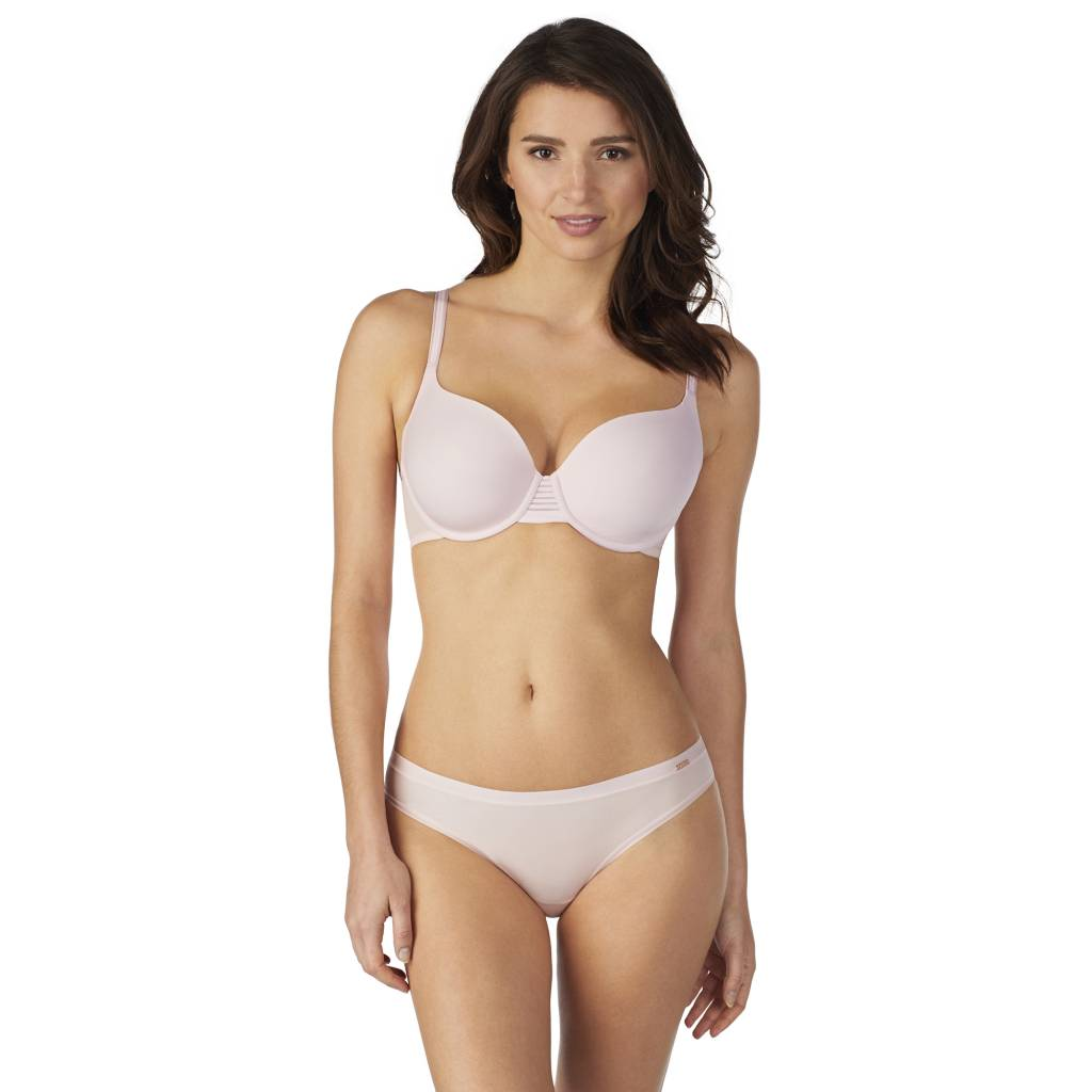 afcde21eb17 Le Mystere Second Skin Back Smoother T-Shirt Bra - ANGIE DAVIS