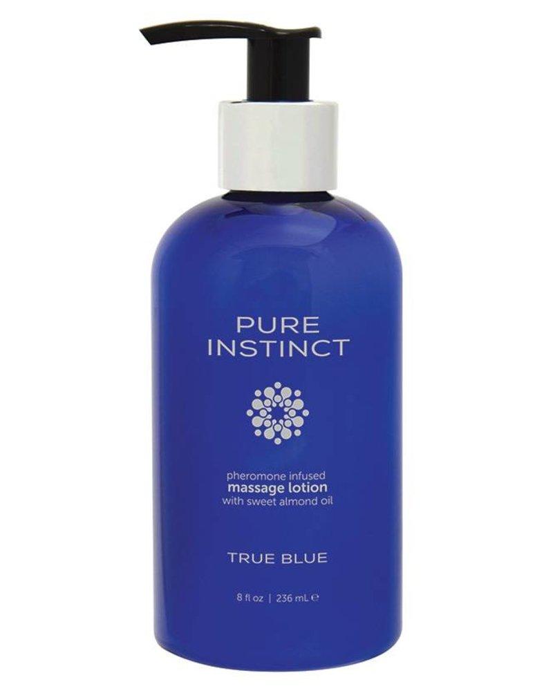 Pure Instinct Pheromone Body Lotion True Blue