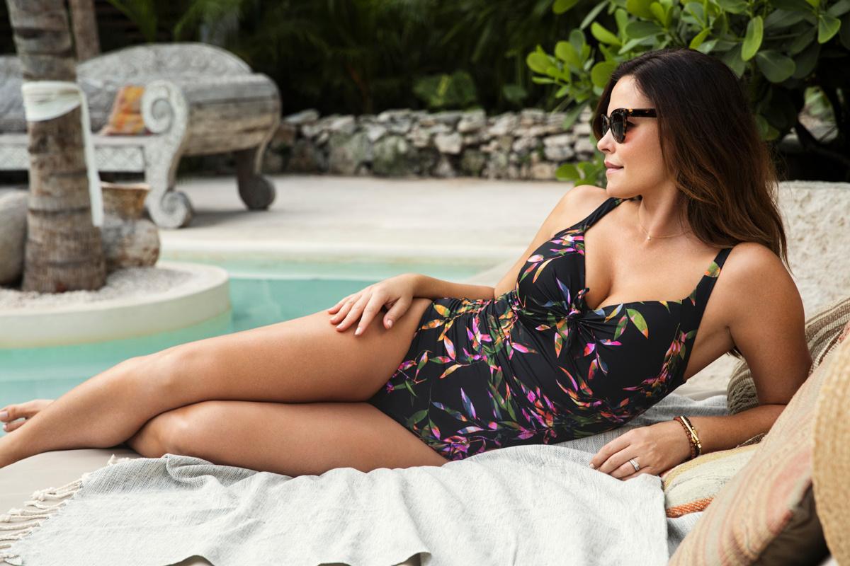 fb82ef8069 Fantasie Palawan Black Control Swimsuit - ANGIE DAVIS