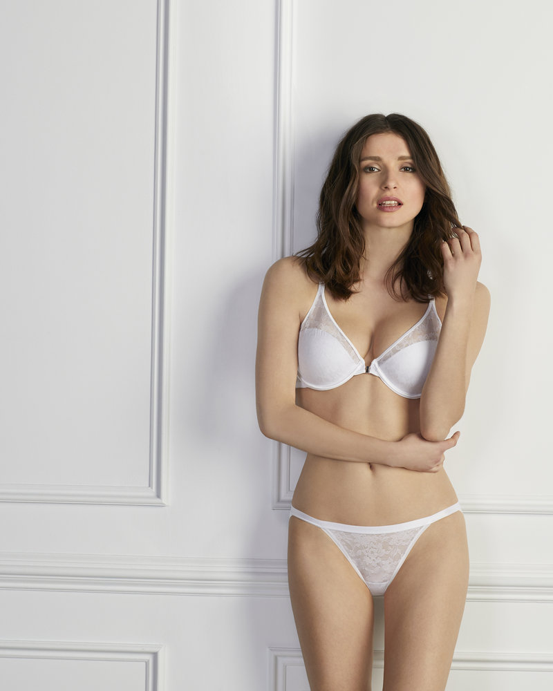 LE MYSTERE Le Mystere Lace Perfection Unlined Strapless Bra