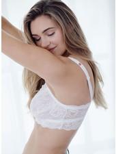 Cosabella Cosabella Never Say Never Curvy Bralette - White
