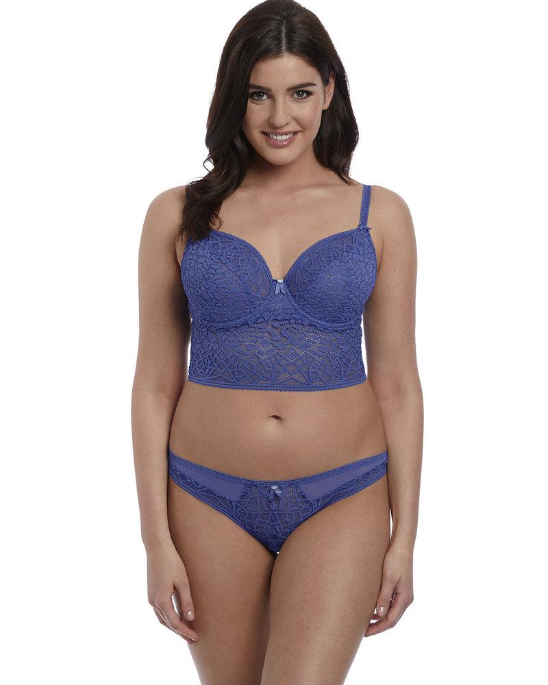 Freya Soiree Lace Thong Brazilian Panty