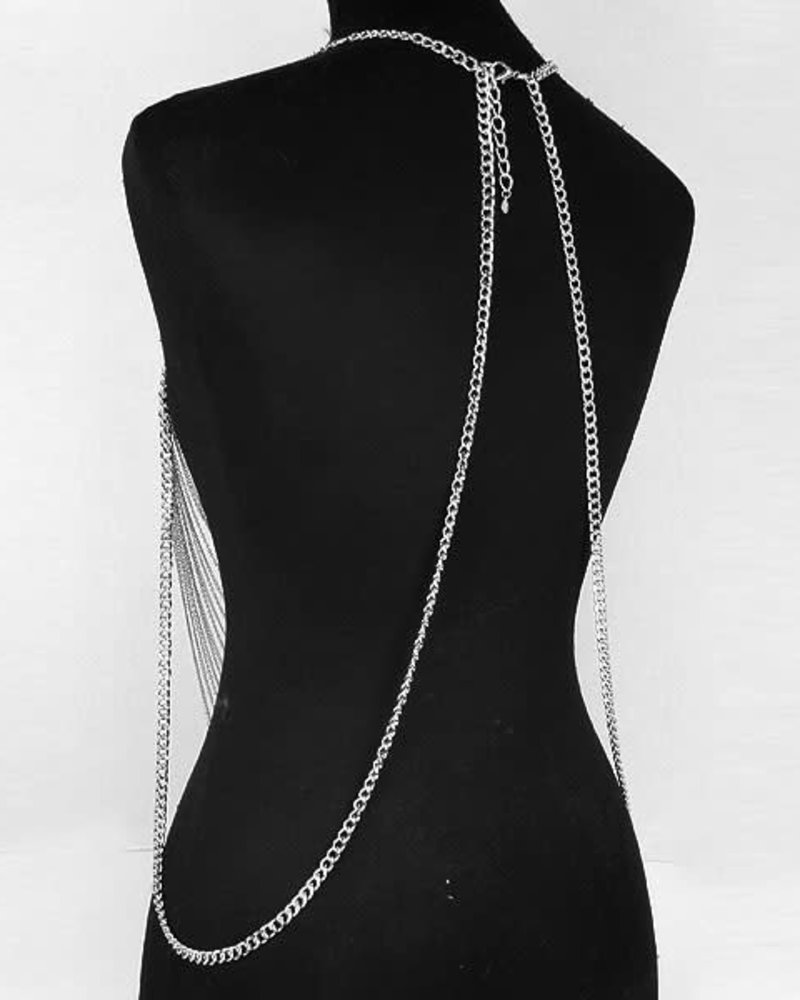 Multi-Draped Necklace Body Chain