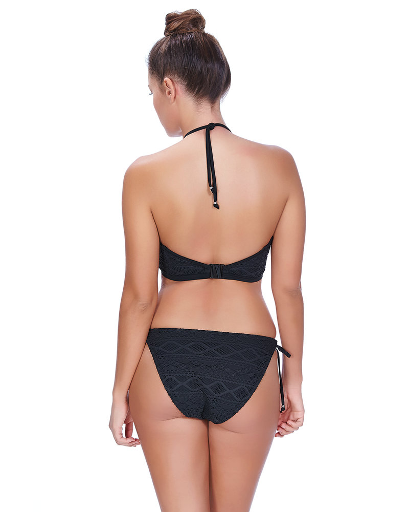 Freya Sundance Underwire Padded Hi-Neck Swim Top