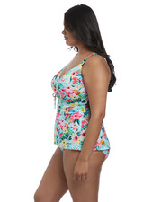 Elomi Aloha Wire Free Tankini Swim Top