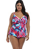 Elomi Paradise Palm Wire Free Tankini Swim Top