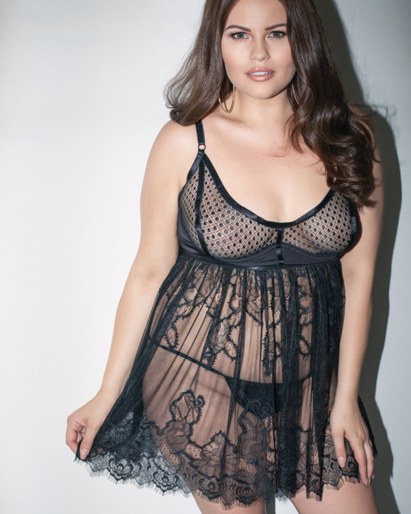 Plus Size Ambitious Babydoll