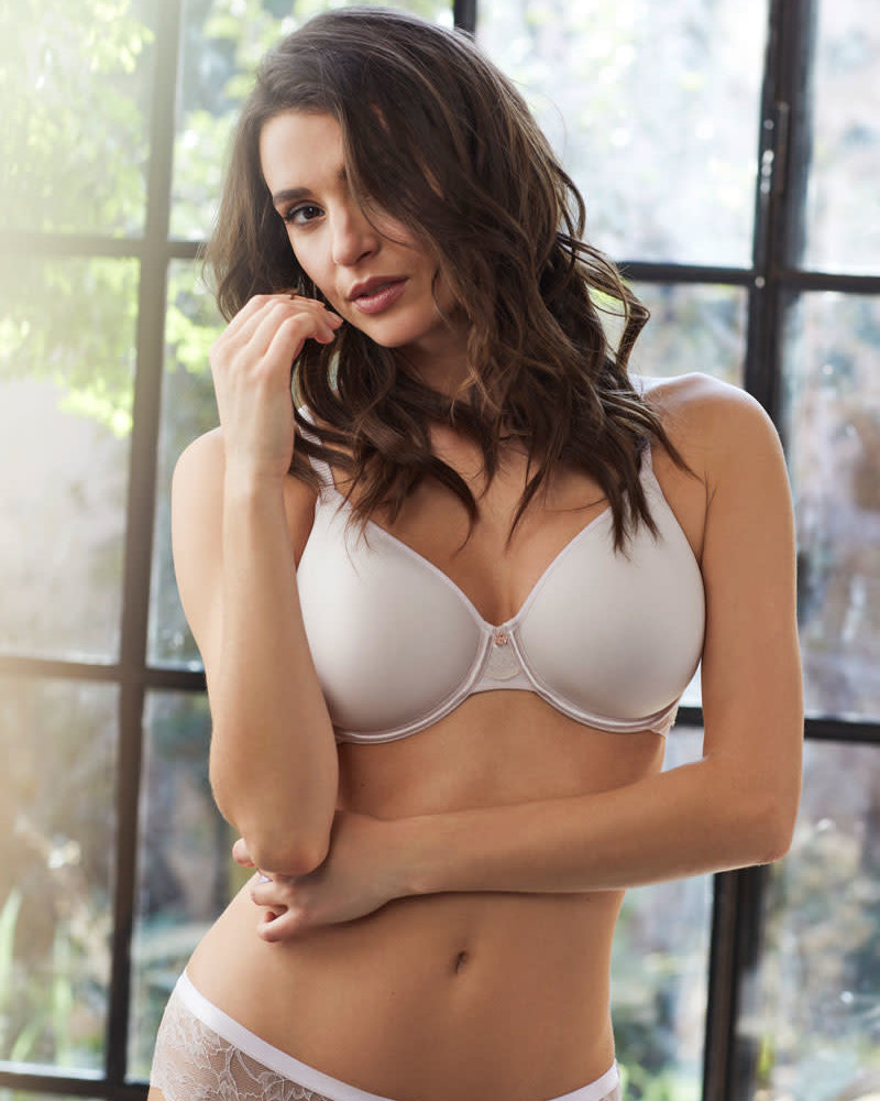 LE MYSTERE Light Luxury Back Smoother Spacer Cup Bra - Shell